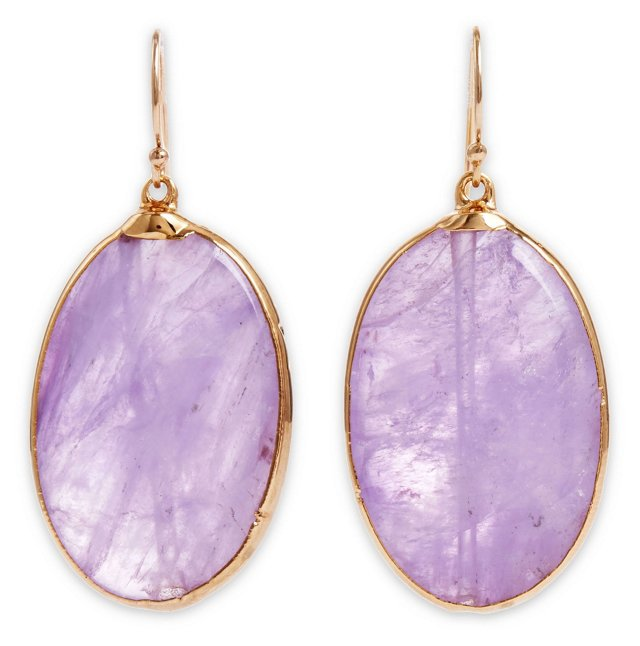Amethyst Delphine Earrings