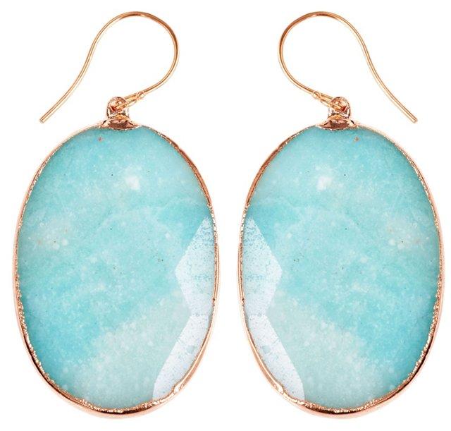 Amazonite Delphine Earrings