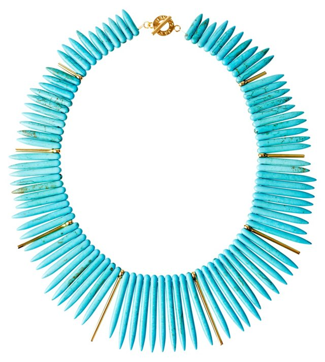 Turquoise Howlite Remy Necklace