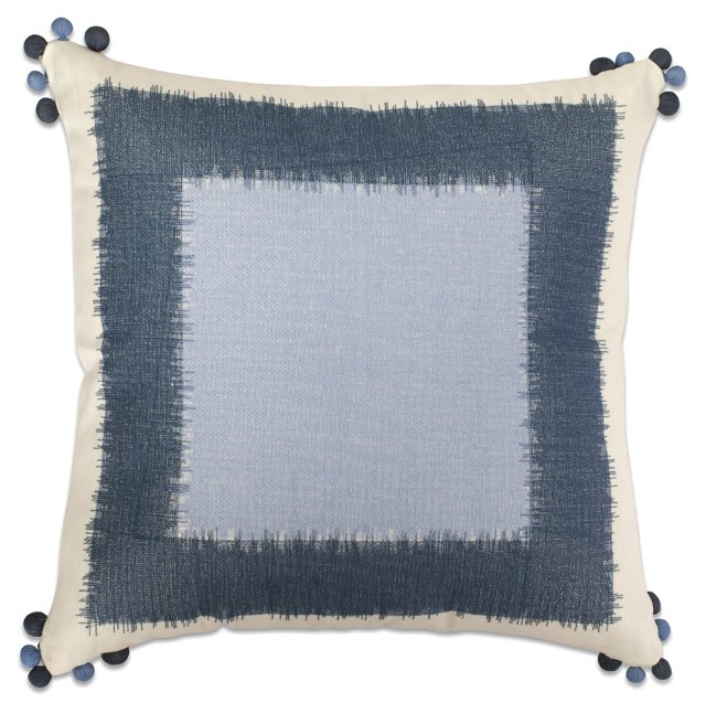 Squares 18x18 Pillow, Multi