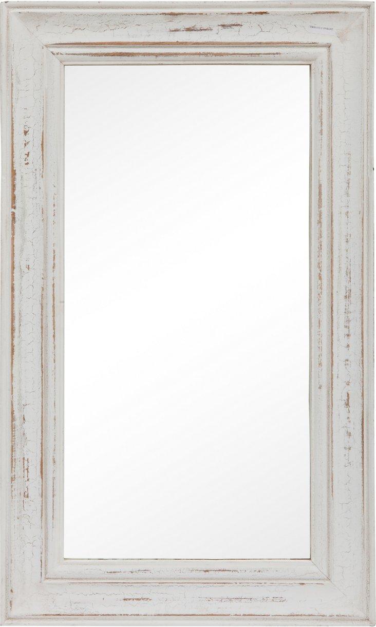 Distressed Tall Mirror