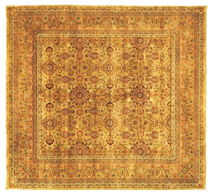Agra Rug, Gold/Ivory