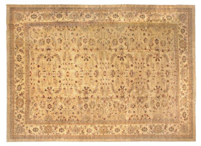 15'x20' Unusual Ziegler Rug, Sand