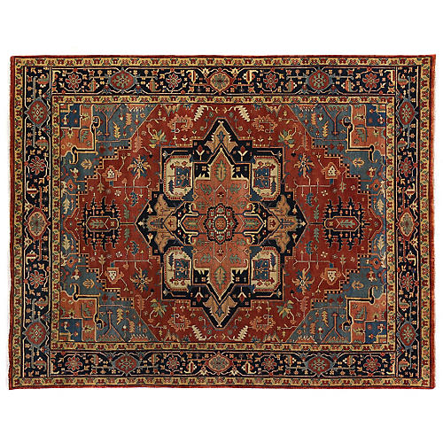 Danby Rug, Red Multi