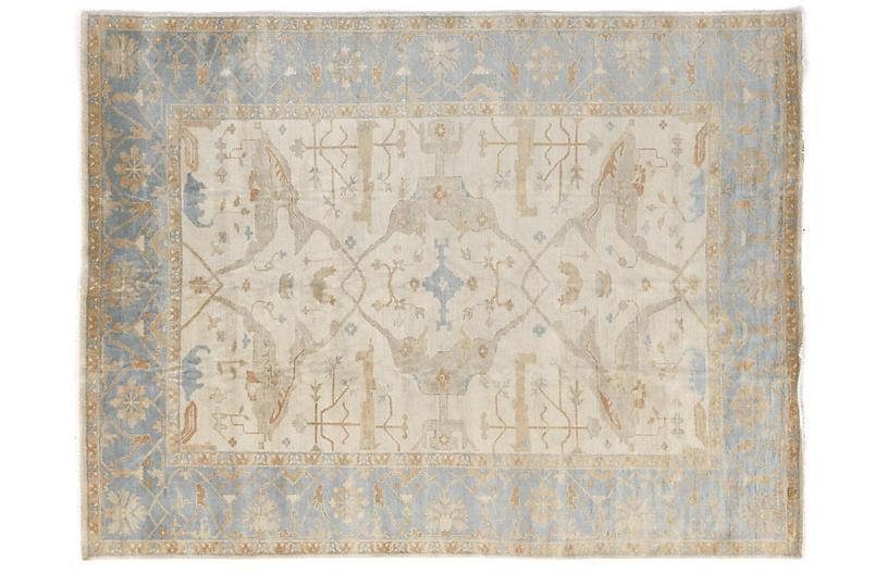 Paget Rug, Blue/Ivory