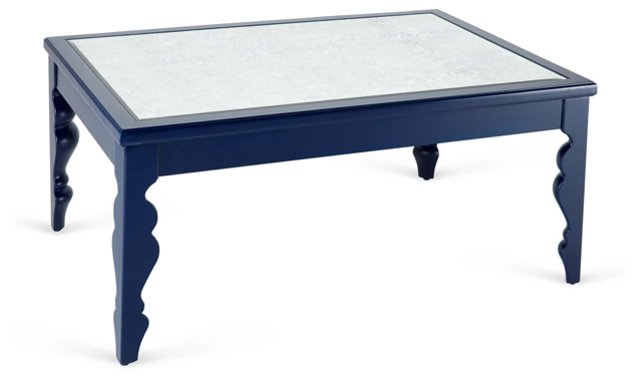 Jules Coffee Table, Navy