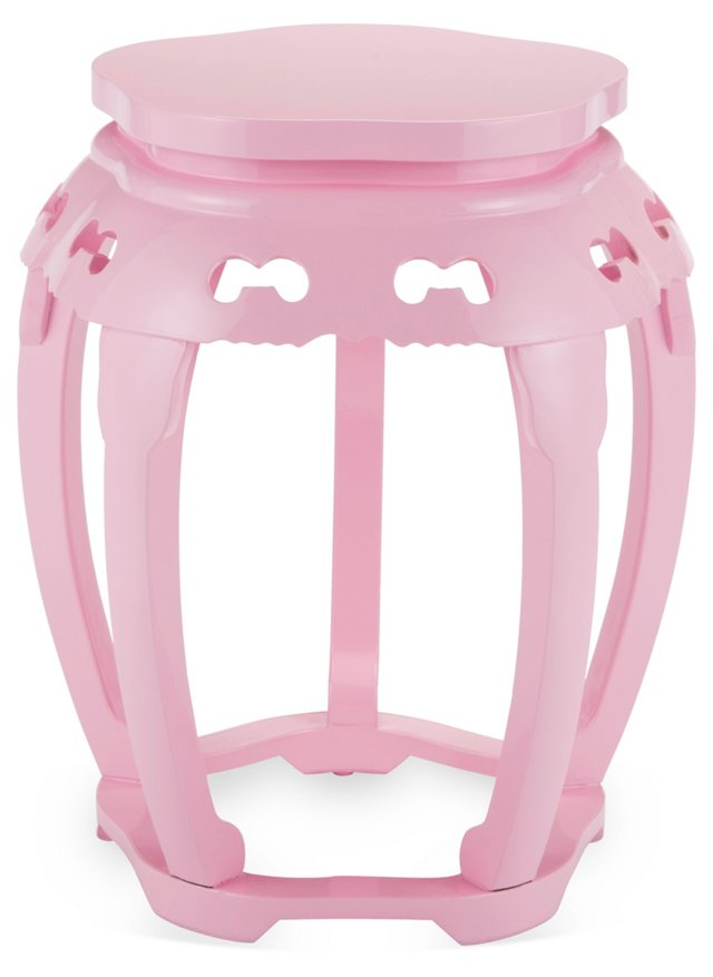 Rosie Stool, Powder Pink