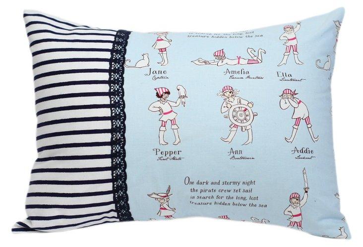 Decorative Pillow, Pirate Girls