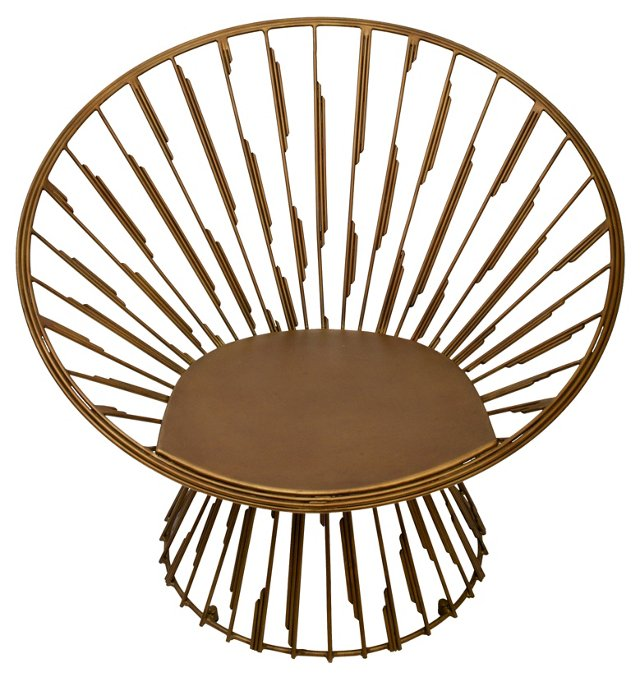 Luc Chair, Brass