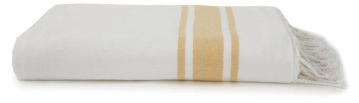 Ayrika Ocean Terry Towel, Gold