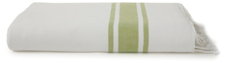 Ayrika Ocean Terry Towel, Green