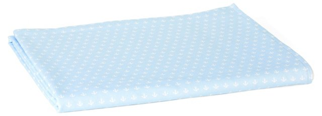 Anchor Terry Peshtemal Towel, Pale Blue
