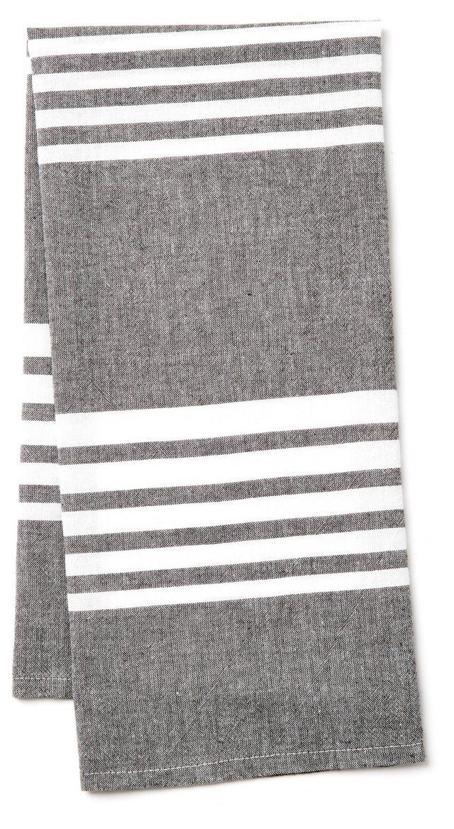Bali Kitchen Towel, Slate