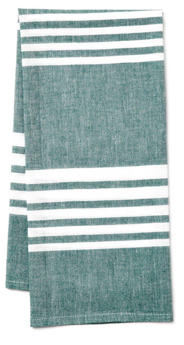 Bali Kitchen Towel, Emerald