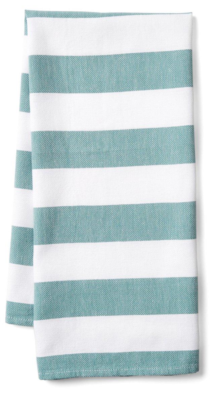 Deck Kitchen Towel, Teal