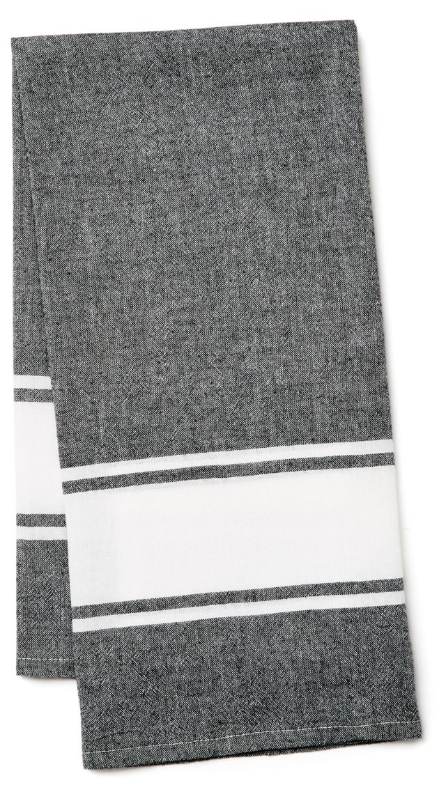 Classic Kitchen Towel, Black