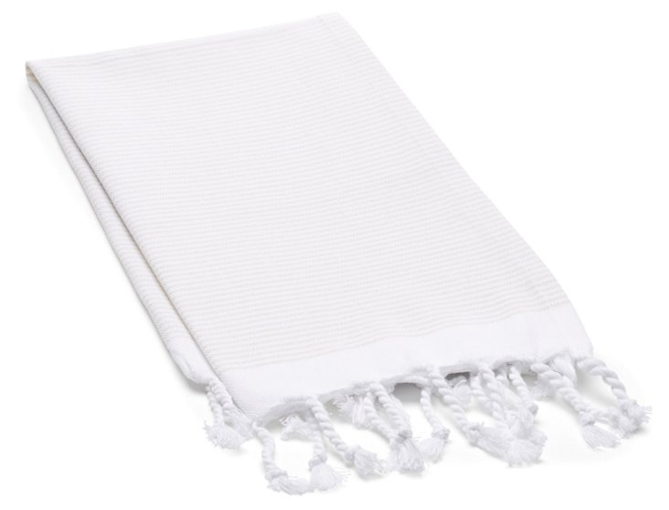 S/2 Lapiz Hand Towels, Cream