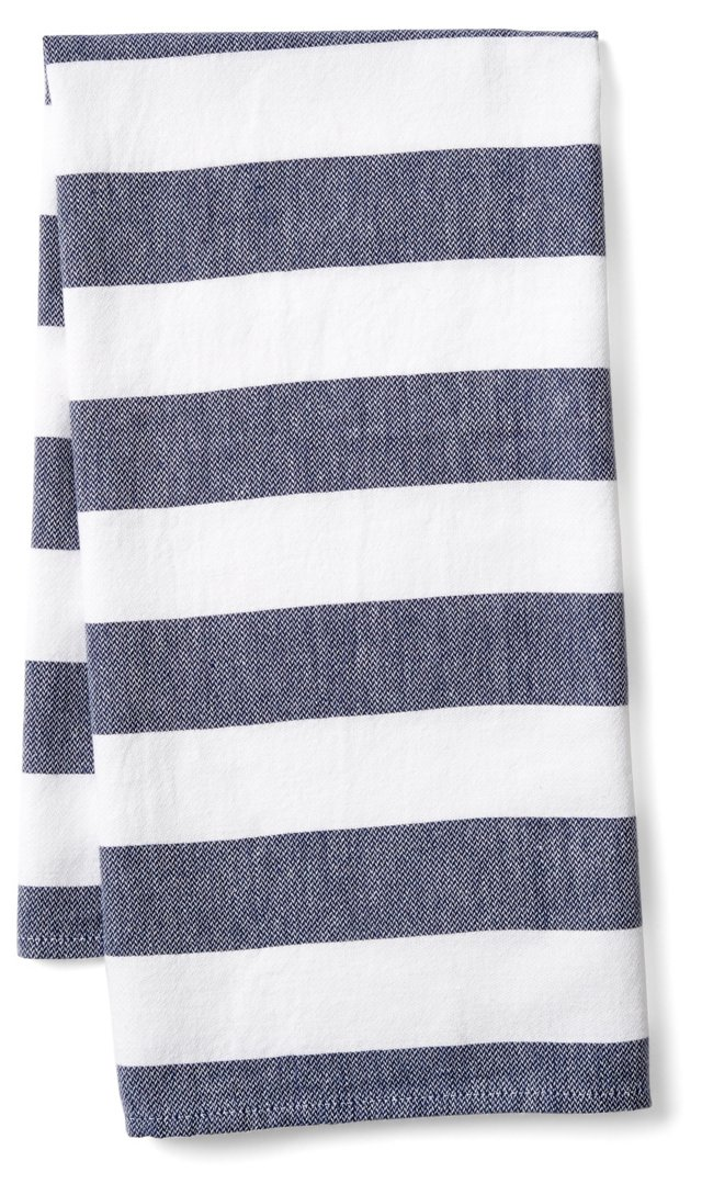 Deck Kitchen Towel, Navy