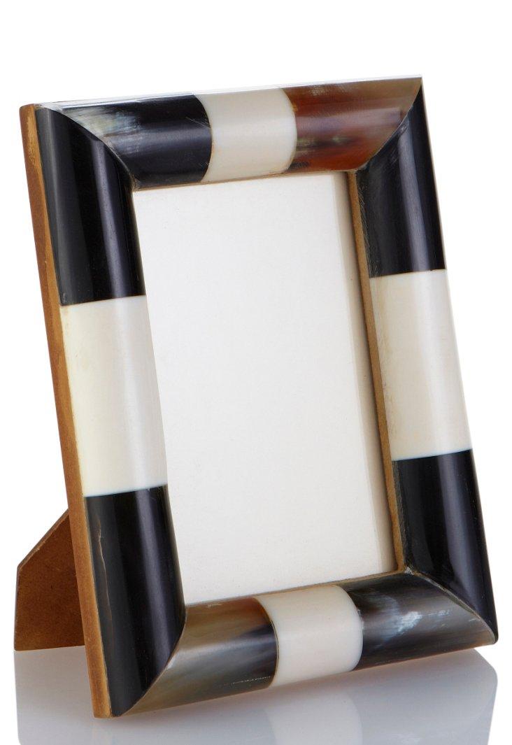 Bone & Horn Frame, 4x6