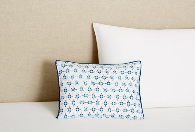 Boudoir Pillowcase, Celestial Blue