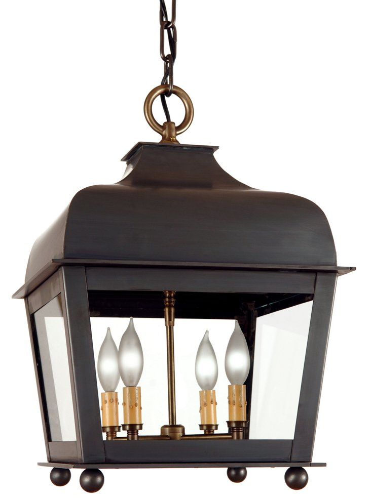 Zimmer 4-Light Hanging Lantern