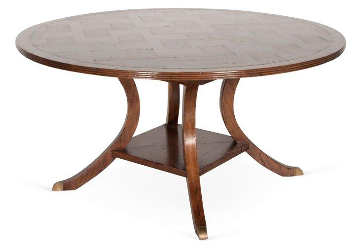 Regency Table, Pecan
