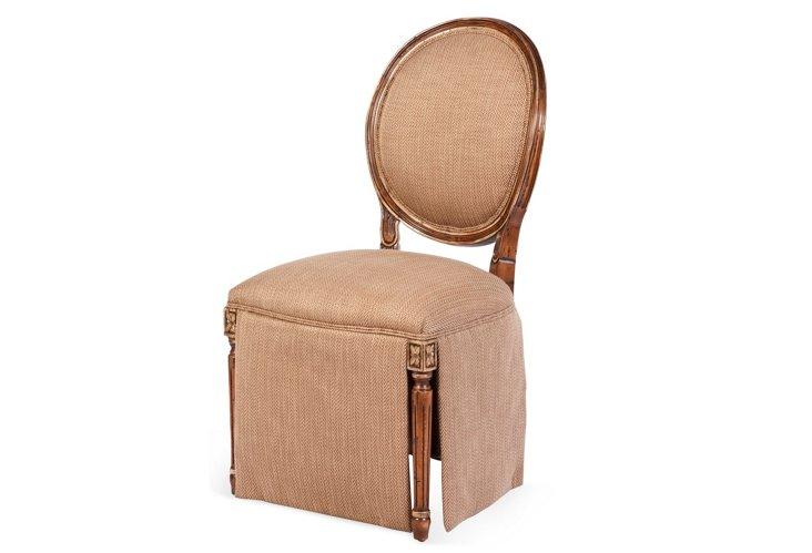 Rutland Skirted Side Chair