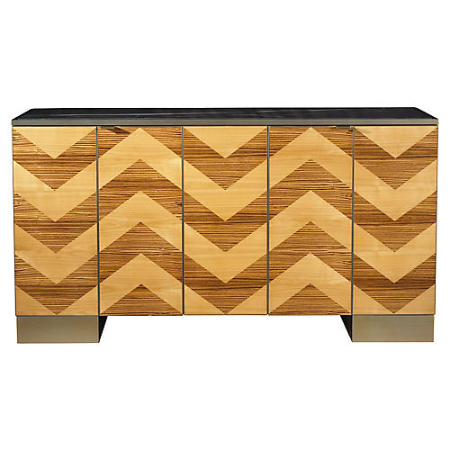 Fitzgerald Sideboard, Light Cherry