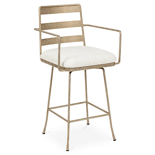 Henry Counter Stool, Golden Bisque