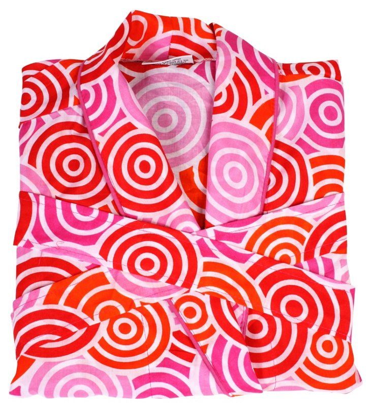 Jubilee Robe, Pink/Red