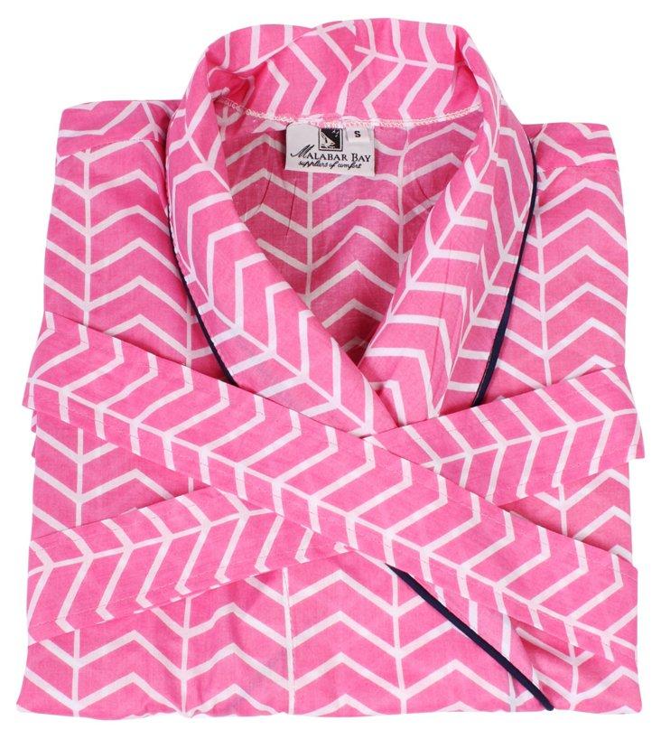Vortex Robe, Pink
