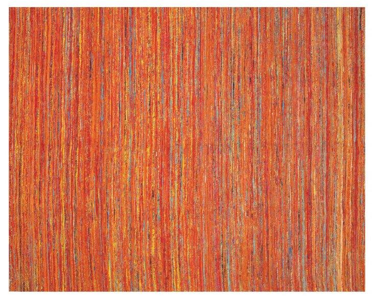 Arushi Rug, Orange/Multi