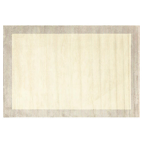Avery Rug, Cream/Gray
