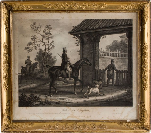 French Horse Engraving II