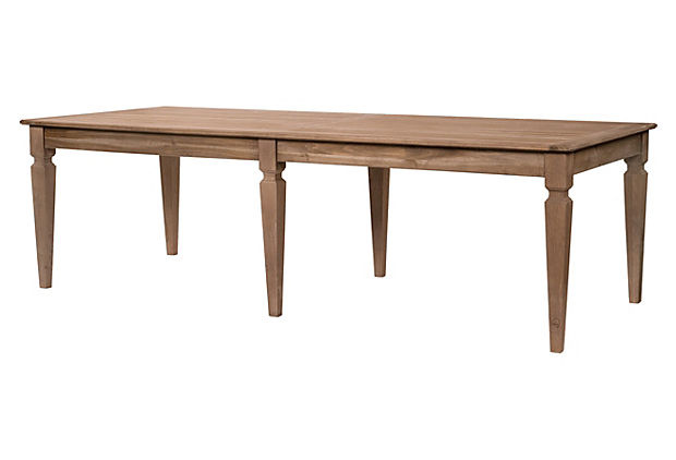 "Porter 102"" Dining Table, Toffee"