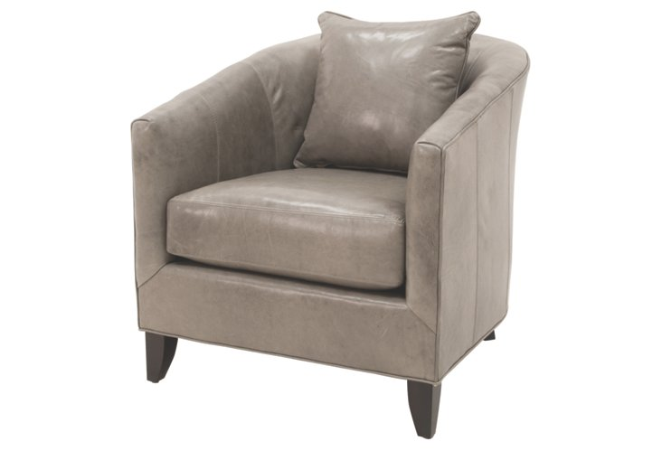 Sidney Tub Chair, Dove Gray