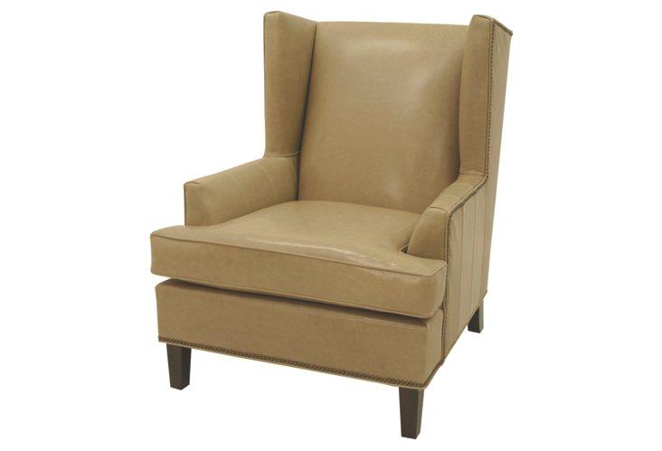 DNUMarcus Wing Chair, Tan