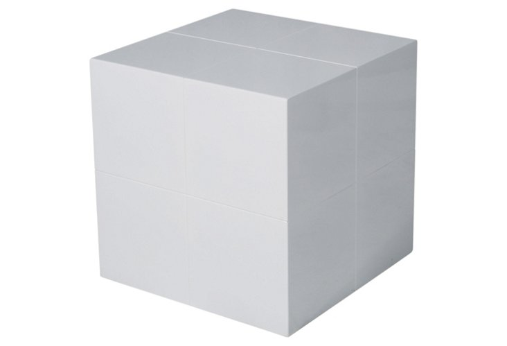 Warren Cube, White