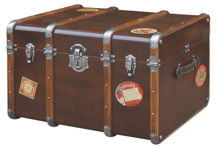 DNU,OWilson Leather Trunk
