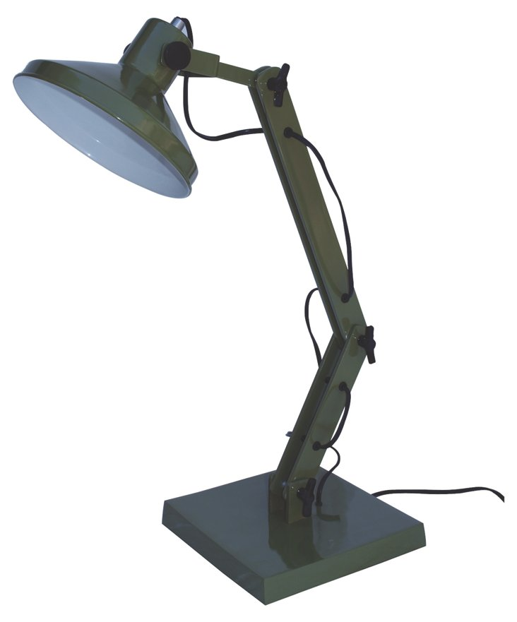 Jackman Table Lamp, Green