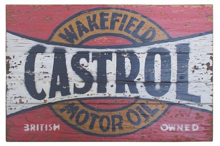 Castrol Motor Oil Painting