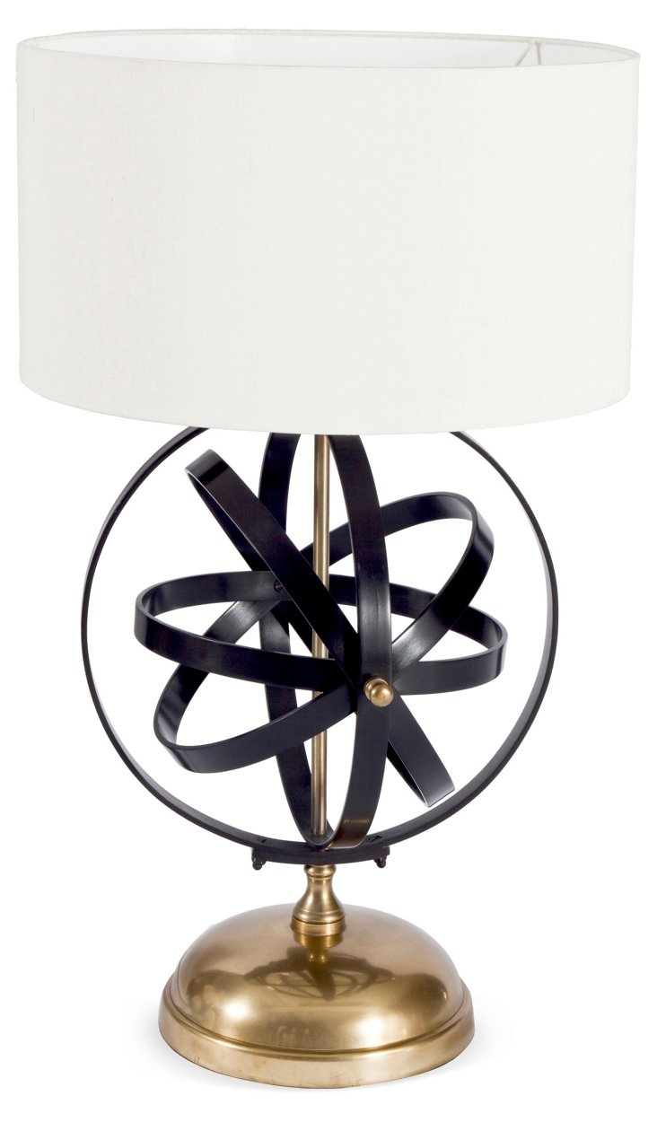 Inorbit Table Lamp, White