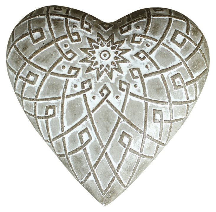 Beret Heart Stone