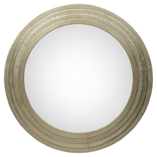 Tara Round Mirror