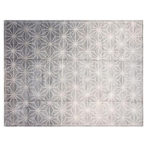 9'x12' Ariella Rug, Gray