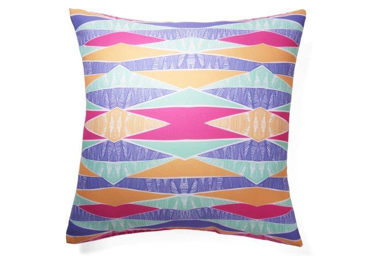 Pastel Tribal 20x20 Pillow, Multi