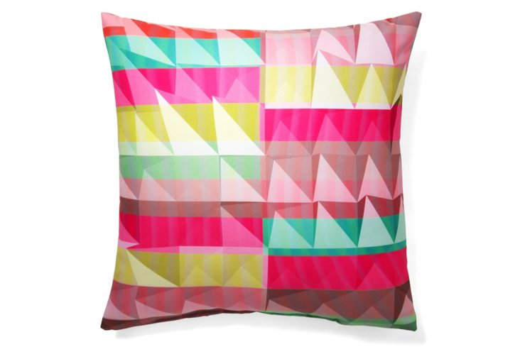 Vibrant 20x20 Pillow, Multi