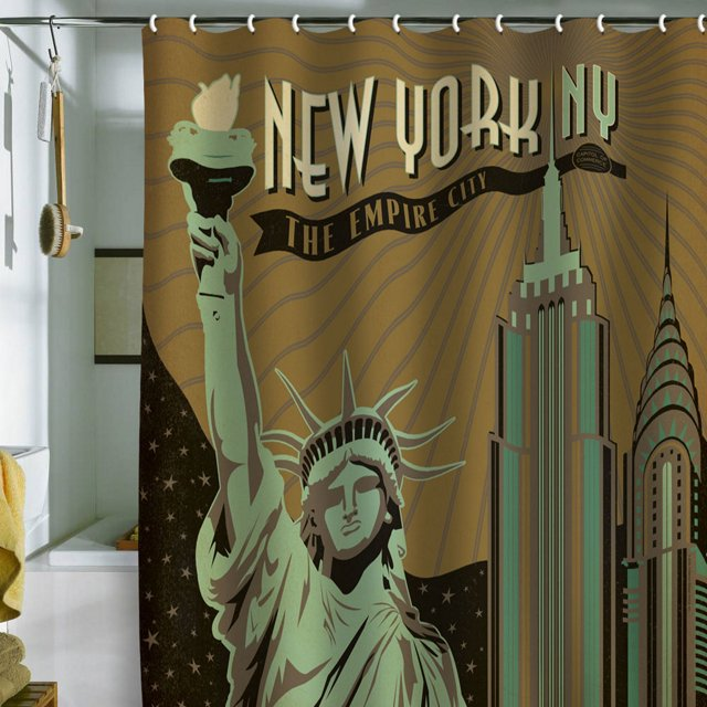 Anderson New York Shower Curtain