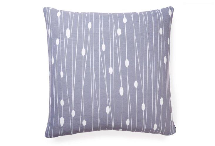 Entangled 20x20 Pillow, Gray