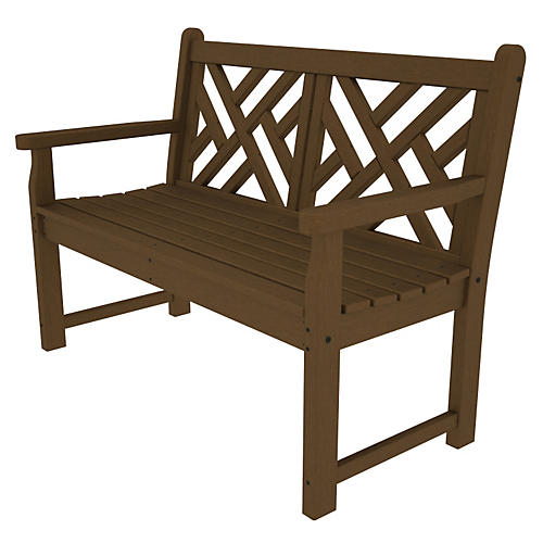 Chippendale Bench, Teak